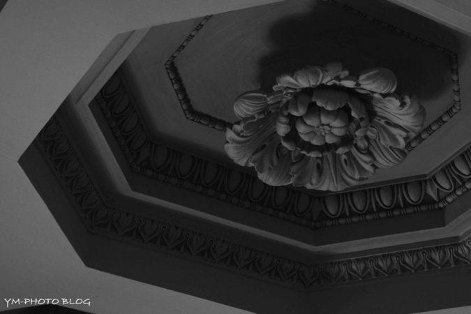 天井のアップ