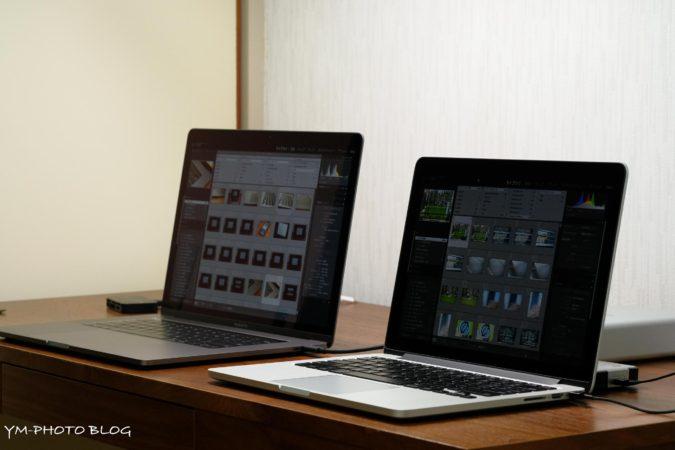 2台のパソコン