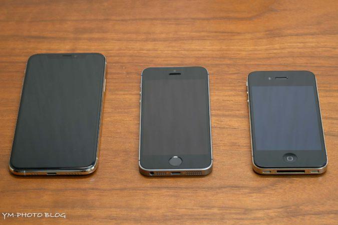 歴代iPhone