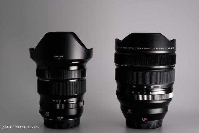 XF8-16mmF2.8 R LM WR XF10-24mmF4 R OIS