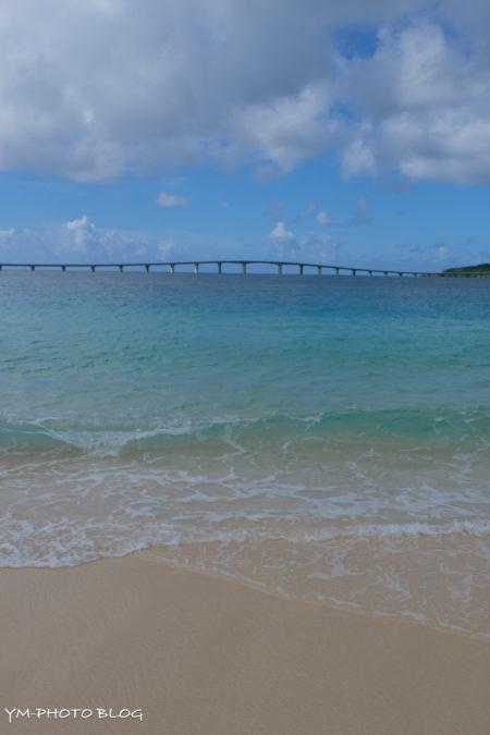 ビーチと海と橋