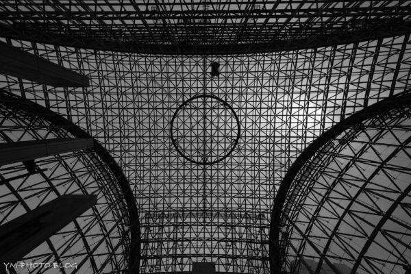 金沢駅の天井