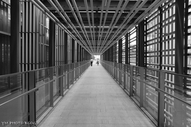 東京ミッドタウンの廊下