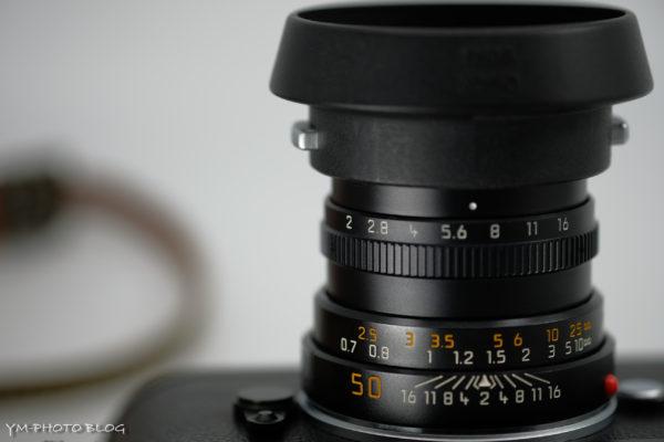 LEICA SUMMICRON-M f2/50mm (3rd)