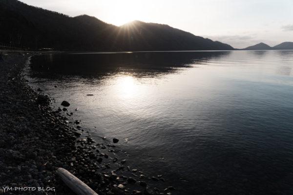 支笏湖・湖畔